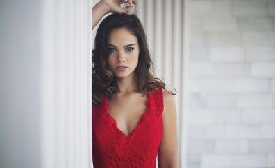 Barbara Osorio, brunette, model