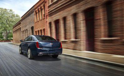 Cadillac XTS, car, motion blur, 2018 car