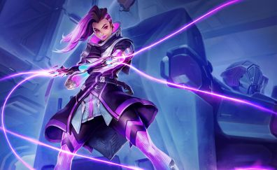 Sombra of overwatch video game