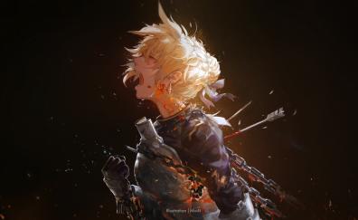 Fantasy artwork of girl
