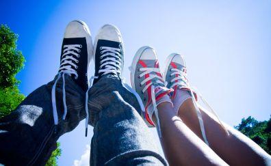 Converse shoes, canvas shoes