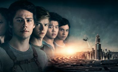 Maze runner: the death cure, 2018 movie, cast, 5k