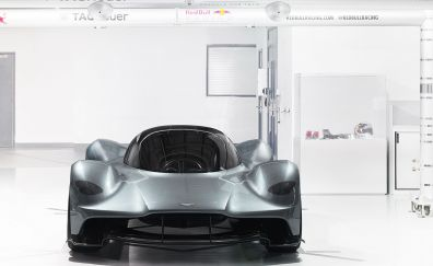 Aston Martin Valkyrie, at showroom, front