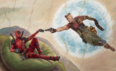 Deadpool 2, 2018 movie, poster