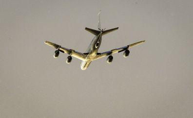 Boeing KC-135 Stratotanker, military, airplane, clean sky
