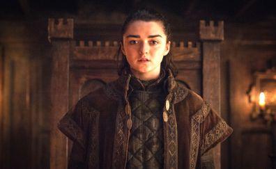 Arya Stark, Maisie Williams, Game of Thrones, season 7
