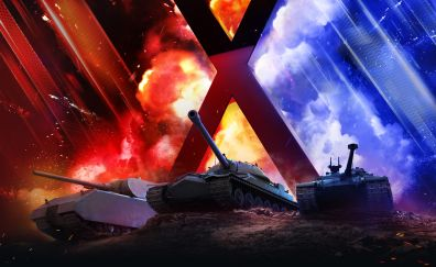 Tanks, World of Tanks, game, online game