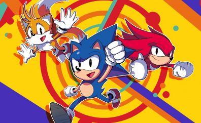 Sonic mania, fun, video game