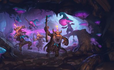 Hearthstone, kobolds and catacombs, 2017