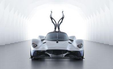 Doors open, front, Aston Martin Valkyrie
