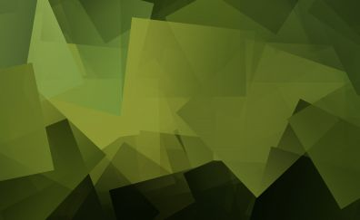 Green Gradient, mosaic, pattern, abstract, 4k
