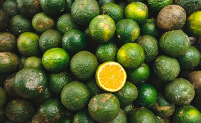Lime, fruits, green fruits