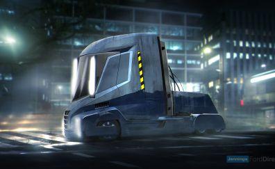Blade Runner, movie, truck
