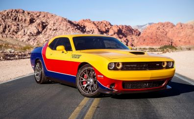 Dodge challenger, muscle car