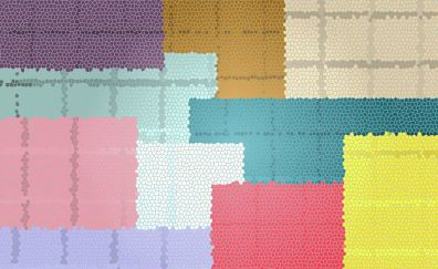 Shapes, colorful texture, abstract