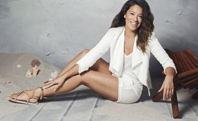 Gina Rodriguez, celebrity, white dress