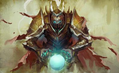 Knight, warrior, magician, fantasy, art