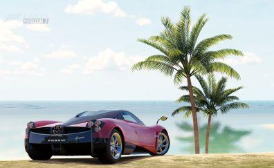 Pagani Huayra, car, Forza Horizon 3, video game