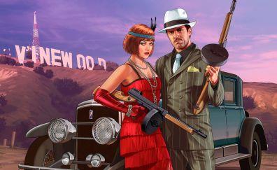 Grand theft auto v, hollywood, game