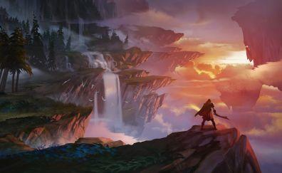 Dauntless, Video game, game, 2017 game, warrior