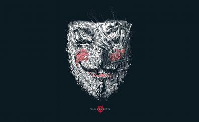 Anonymous V for vendetta artwork illustration