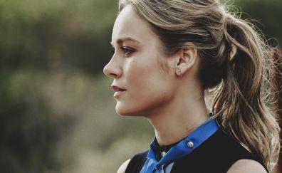 Brie Larson, face, celebrity