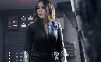 Chloe bennet as daisy johnson in agent of shield season 4 tv series