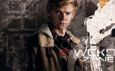 Thomas Brodie-Sangster, maze runner: the death cure, 2018 movie, 4k