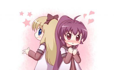 Ayano Sugiura, Kyōko Toshinō, YuruYuri, anime girls, cute