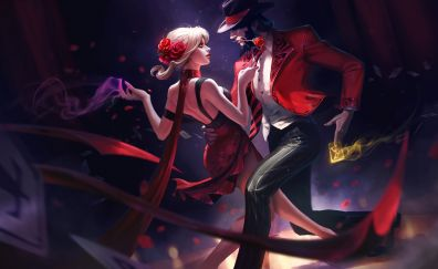Evelynn, league of legends, online game, dance