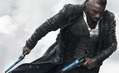 Idris Elba as The Gunslinger, The Dark Tower, 2017 movie, 4k