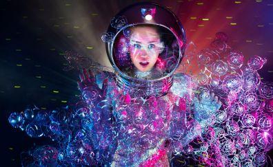 Miley cyrus, singer, celebrity, 2017, 8k