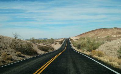 Road, highway, travel, journey, landscape