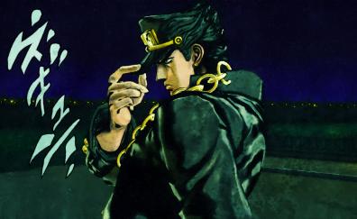 Jotaro Kujo, JoJo's Bizarre, anime, artwork