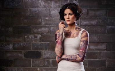 Blindspot tv show, actress, tattoo
