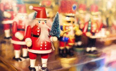 Christmas, Santa claus, new year 2017