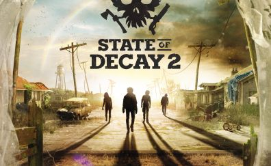 State of decay 2, E3 2017, video game, 4k