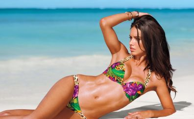 Hot Adriana Lima in swimsuit