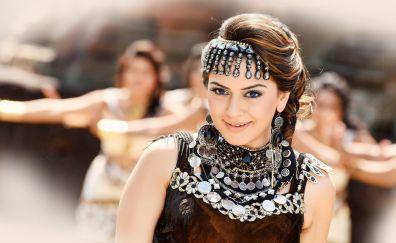 Indian actress Hansika Motwani in puli movie