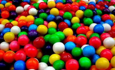 Colorful gumball, candies