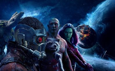 Guardians of the galaxy vol. 2, movie, poster, space, planet