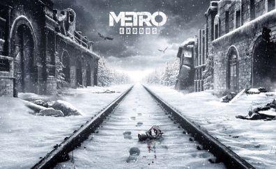 Metro: Exodus, video game, 2018 game, 4k, 8k