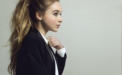 Sabrina carpenter, singer, long hair, 5k