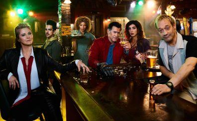 Ash vs Evil Dead, tv series, cast