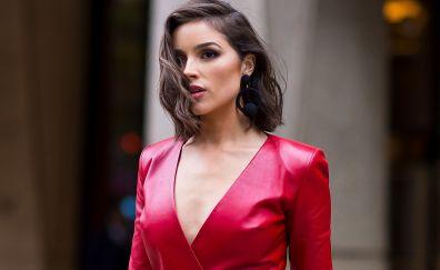 Olivia culpo, 2017, red clothing