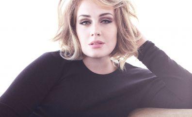 Adele, famous singer, vanity fair, 2017, 4k