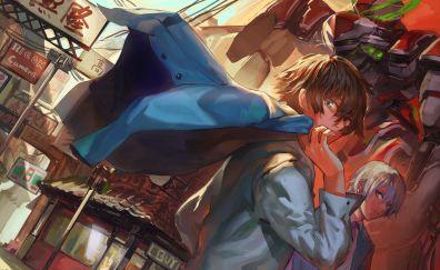 Valvrave the Liberator, anime boys