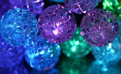 Decorations, ball, glitter, party