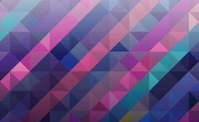 Triangles, material design, abstract, shapes