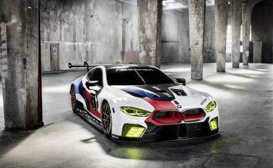 BMW M8 GTE, 2018 car, sports
